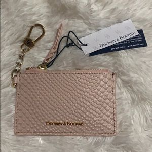 Brand new Dooney and Bourke blush coin pouch